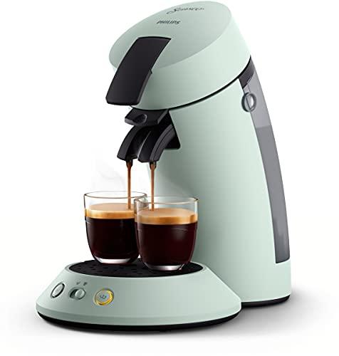 Philips Senseo Original Plus CSA210/20 ekspres do kawy na saszetki (wybór mocy kawy, technologia Coffee Boost, wykonany z plastiku pochodzącego z recyklingu), miętowy