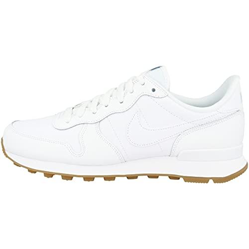 Nike Damen Internationalist Laufschuhe, White White White Gum Light Brown, 40 EU