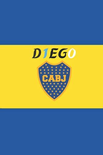 DIEGO : BOCA JUINIORS Notebook For Diego Armando Maradona Th