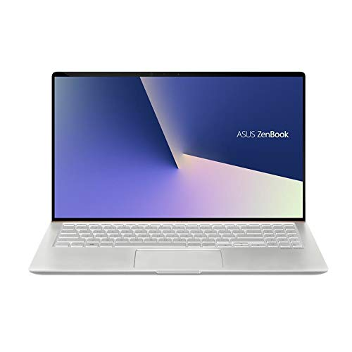 "ASUS 15.6"" ZenBook Intel Whiskey Lake i7-8565U 16GB DDR4 1TB PCIe SSD GeForce GTX 1050 Windows 10 Pro Icicle Silver Ultra Slim Compact FHD Model UX533FD-NS76"