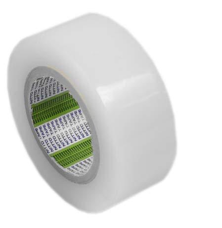 Cinta Adhesiva Transparente para Reparación de Plástico de Invernaderos, Toldos, Films para Jardín y Cultivo, Resistente al Exterior Sol UV Lluvia | 5cm ancho x 50m largo