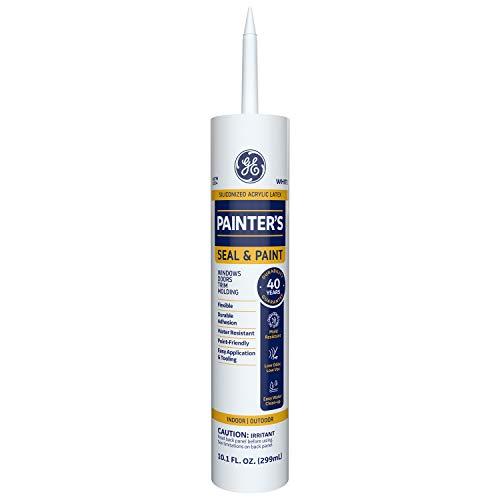 GE Sealants & Adhesives Painter's Caulk, 10.1oz, White,MAP110WT