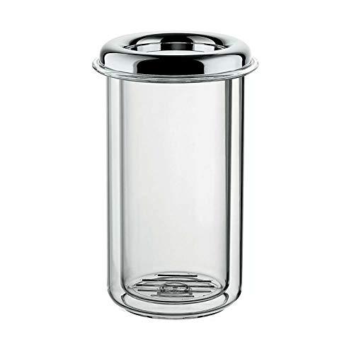 Guzzini. 16470016 Portabottiglia Termico da Tavola Look Trasparente Cromato