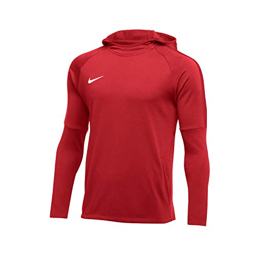 Nike Herren Academy18 Hoodie Kapuzensweatshirt, Rot (university red/Gym red/White/657), Gr. M