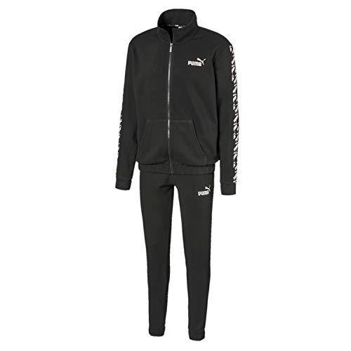 PUMA Herren Trainingsanzug Amplified Track Suit TR, Black, XL, 582604