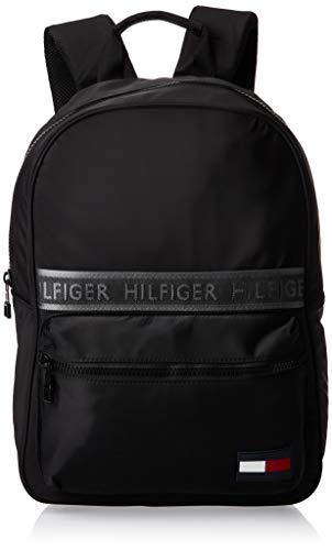 Tommy Hilfiger Herren Sport Mix Backpack Solid Geldbörse, Schwarz (Black), 1x1x1 cm