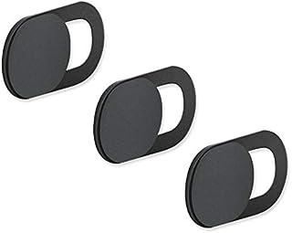 3PCS WebCam Cover Shutter Magnet Slider Plastic Camera Cover for WebCam iPhone PC Laptops Mobile Smart Phone Privacy Sticker