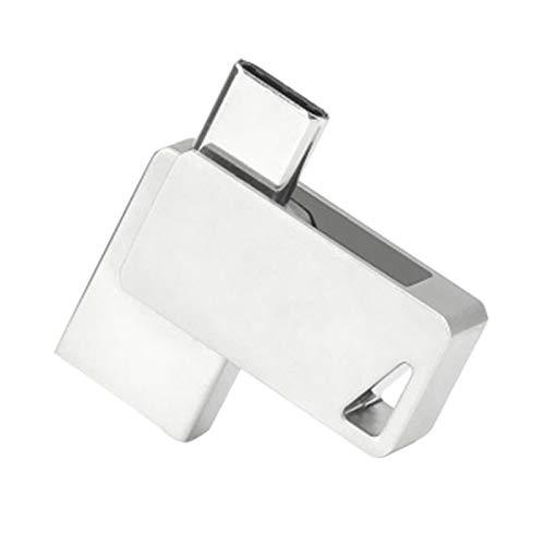 Monland Typ-C-Mobiltelefon U-Disk USB3.0-Handy-Computer Dual-Use-U-Disk Hochgeschwindigkeits-Lese- und Schreib-Dual-Schnittstelle 128G