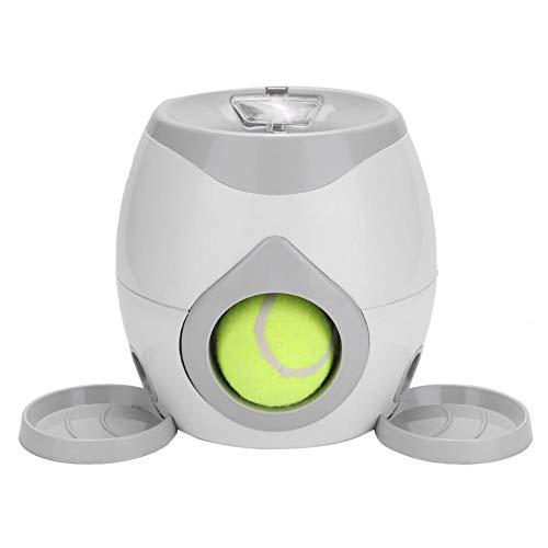 Juguete automático para lanzador de pelotas para perros, perro para mascotas Pelota para lanzar pelotas de tenis Máquina automática para lanzar Juguete para gatos Mascotas de animales Alimenta