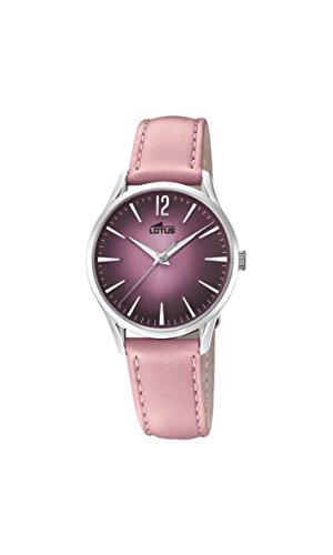 Lotus Watches Reloj Análogo clásico para Mujer de Cuarzo con Correa en Cuero 18406/2