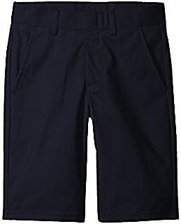 ノーティカ Nautica Kids キッズ 男の子 ショーツ 半ズボン Navy Husky Flat Front Twill Shorts (Big Kids) [並行輸入品]