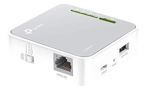 TP-Link TL-WR902AC AC750 WLAN Nano Router (433Mbit/s (5GHz) +300Mbit/s (2,4GHz) (tragbar, Accesspoint, TV Adapter, Repeater, Router, Client, Media, FTP Server), weiß/ grau