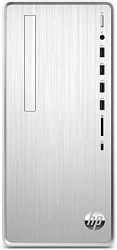 HP Pavilion TP01-2001ns - Ordenador de sobremesa (Intel Core i5-11400, 16 GB DDR4-SDRAM, 512 GB SSD, Windows 10 Home), plateado