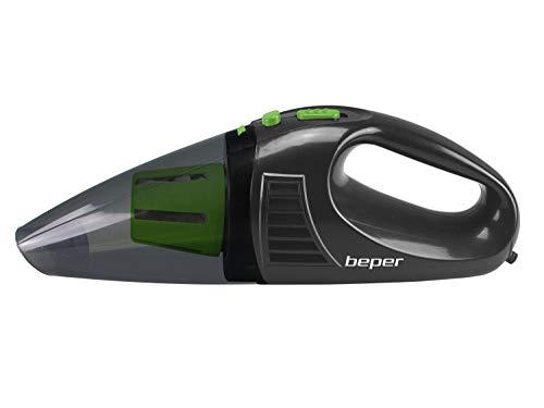BEPER Aspirabriciole per Auto, ABS+PP, Nero e Verde, Piccolo
