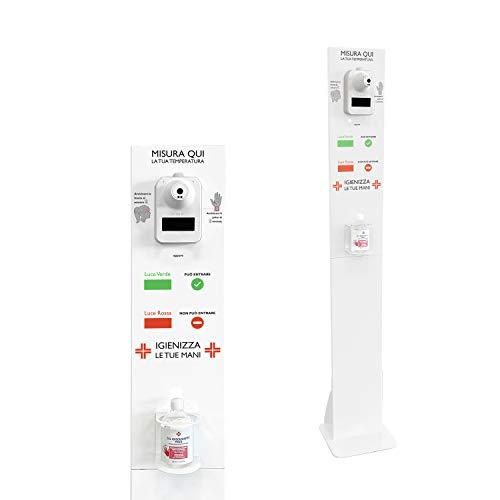 Medidor de temperatura PROFESIONAL en soporte que se puede ensamblar con puerta...
