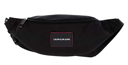 Calvin Klein Jeans, WAISTBAG Donna, Nero, 28 Inches, Extra-Large