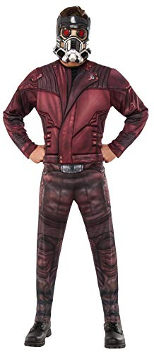 Rubie's Offizielles Marvel Guardian of the Galaxy Vol.2 Star-Lord Deluxe-Kostüm für Erwachsene