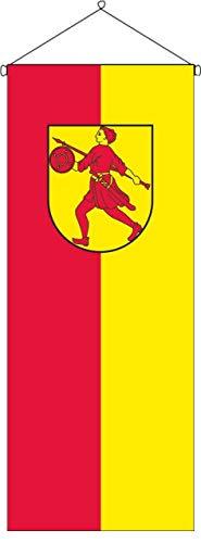 flaggenmeer® Flaggenbanner Wilhelmshaven 120 g/m² ca. 200 x 80 cm mit Bannereinrichtung