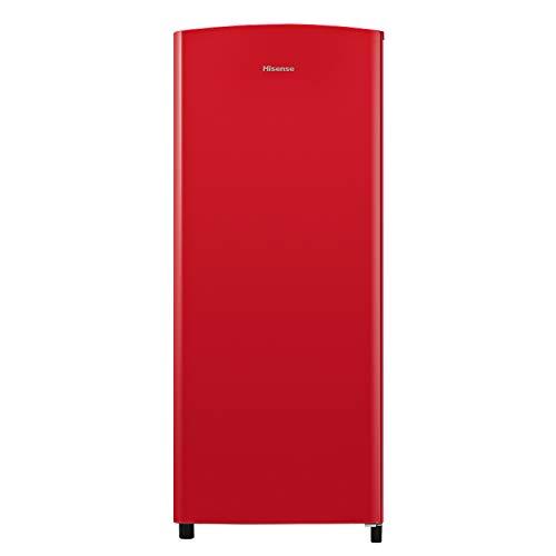 Hisense RR220D4ARF Frigorífico Color, 164 litros, Rojo