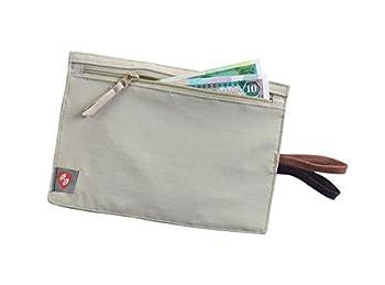 Lewis N Clark RFID Blocking Money Belt Travel Pouch + Credit Card ID Passport Holder for Women & Men Tan One Size