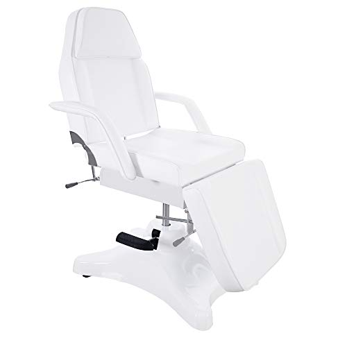 BarberPub Massage Chair Table with Hydraulic Pump, Adjustable Multi-purpose Spa Bed Table Tattoo...
