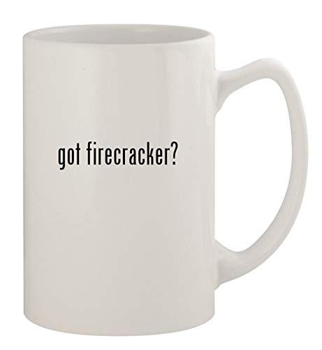 got firecracker? - 14oz Ceramic White Statesman Coffee Mug, White