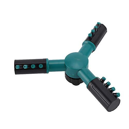 Tgoon Cabezal de pulverización ajustable, modo de riego fuerte y resistente, mayor riego ajustable de plástico (verde)