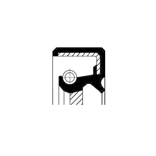 Corteco 19035246B Wellendichtring, Schaltgetriebe