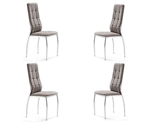 Sillas De Comedor Blancas 6 sillas de comedor blancas  Marca MOMMA HOME