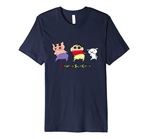Crayon Shin-chan, turning around & Shin-chan & Shiro Premium T-Shirt