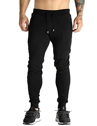COOFANDY Men's Track Pants Casual Cotton Bodybuilding Workout Pant Autumn Winter