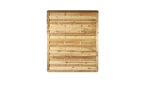 MEIN GARTEN VERSAND Holzzaun Maß 150 x 180 cm (Breite x Höhe) aus Holz, druckimprägniert