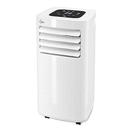 Suntec Aire Acondicionado 3 en 1 Portatil Coolfixx 2.6 Eco R290, Refrigeración, Ventilación y Deshumidificación, Ultrasilencioso. 9000 BTU, Pantalla, Temporizador 24 h, Mando a Distancia