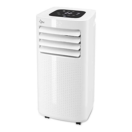 SUNTEC Mobiles Klimagerät Eco R290 – Klimaanlage mobil und leise mit Abluftschlauch – Kühler & Entfeuchter für Räume bis 34 qm – Mobile Kühlung für Wohnung & Büro – 9.000 BTU - 2640 Watt