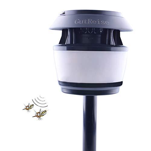 GutReise Portable Solar Powered Graden Street Light,Multifunctional Outdoor Bugs Light Waterproof IP54 80LM Night Lampshades Light