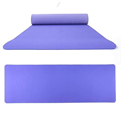 LDM Stuoie di Yoga a Doppio Colore per tappetini per Lo Sport Fitness all'aperto TPE Eco-Friendly Antiscivolo