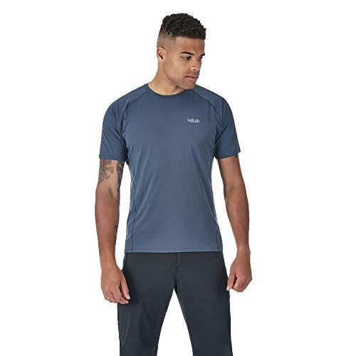 RAB Force - T-Shirt Manches Courtes Homme - Gris Modèle S 2018 Tshirt Manches Courtes