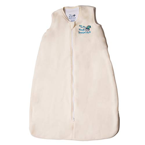 Baby Merlin's Magic Dream Sack - Double Layer Wearable Blanket - Microfleece - Cream - 6-12 Months