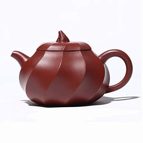 SCRFF Yixing Zisha Tetera 250ml Ceremonia Hecha a Mano del Juego de té Juego de té teteras de té Chino del Regalo del té del hogar fijó Sistema del Vino