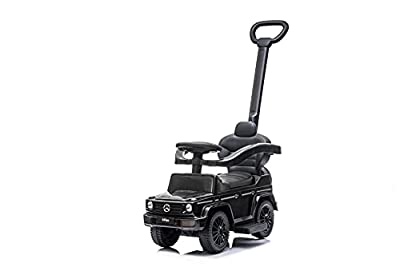 Best Ride On Cars Mercedes G-Wagon 3 in 1 Push Car, Black from Best Ride On Cars