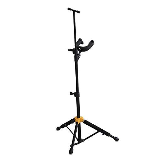 SIWUXIE Vertikal Violine Ständer, Retractable Folding Violine Dreieck Halterung, automatische Schwerkraftschloss Bodenhaken, für Klavier Zimmer Reisen und Familie
