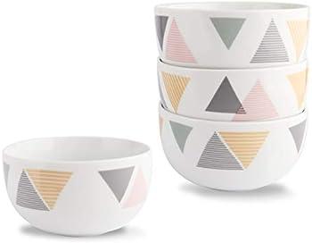 Hoften 4 Pieces Bowl Set, 12 oz