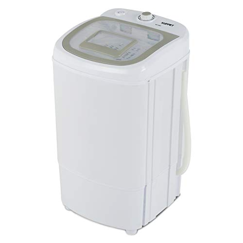 KUPPET Portable Spin Dryer 1500 RPM 110V/17.6lbs(Can only be dried, not washed)