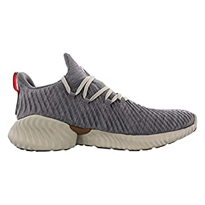 adidas Men's Alphabounce Instinct Running Shoe, heather/clear brown/black, 9 M US