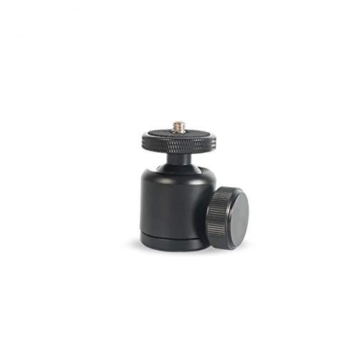 Daxiniu Negro panorámica de 360 grados de rotación de la cabeza giratoria adaptador de trípode de cámara DSLR Montaje de trípode Joby Mini cabeza de la bola for Canon Nikon Sony Accesorios Cámara Ac