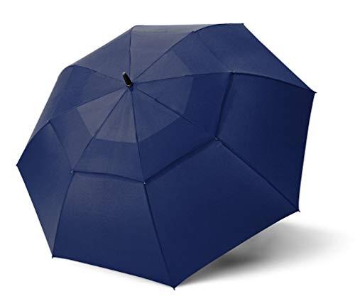 Doppler Fiber Golf AC Air Regenschirme blau 102 cm, Ø 137 cm