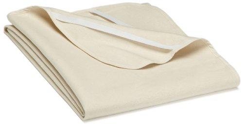 Biberna 808301-555-189 Molton Matratzenauflage Premium Qulaität 120 x 200 cm natur