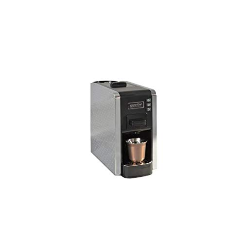 kitchenchef multigusto autonome semi-automática Machine de café en capsules 1L 1tasses Noir, Gris – Cafetière (autonome, fabricant de café en capsules, noir, gris, boutons, 1 l, 1 tasses)