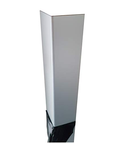 1x Alu Winkel Profil gekantet Aluminium eloxiert Schenkel 100x100mm Länge 1500mm 1,0mm Winkelprofil Kantenschutz L-Profil Eckleiste Eckenschutz Metallwinkel Leistenprofil Profile Alupofil Eckprofil