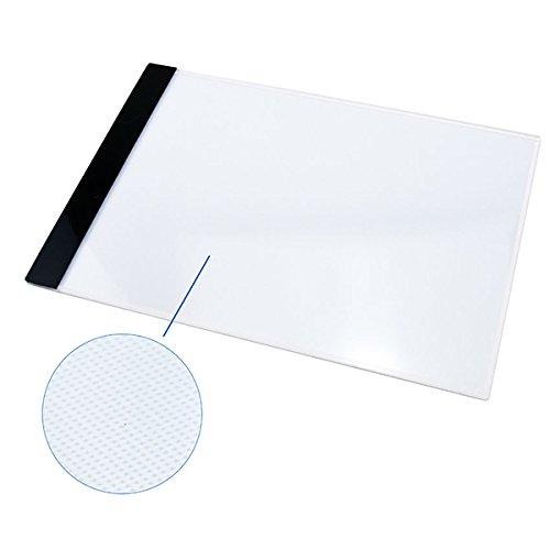 ultnice Tracing Drawing Board A4 LED lumière artiste Box Art Pochoir Board avec adaptateur UE